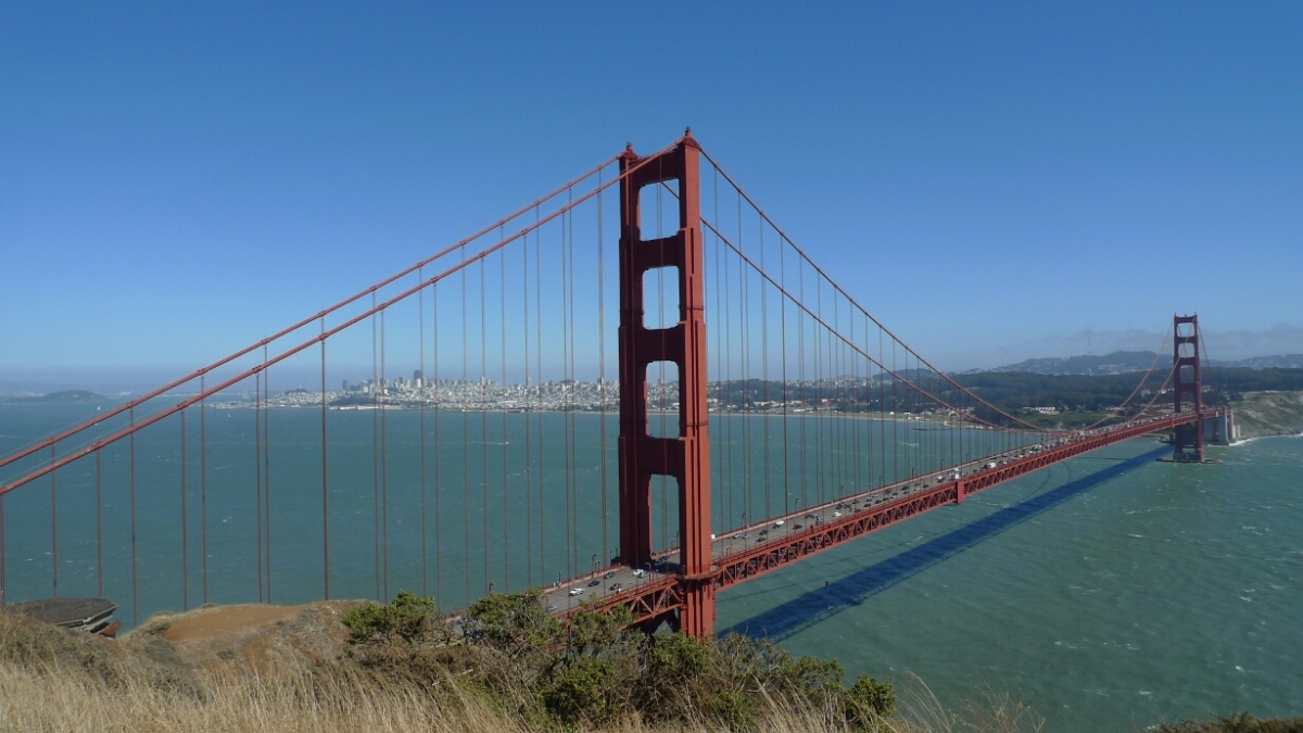 Golden Gate Bridge lookout
